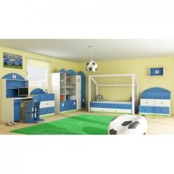 Szafa 3-drzwiowa do pokoju dziecięcego FOOTBALL Szafa 3-drzwiowa do pokoju dziecięcego FOOTBALL