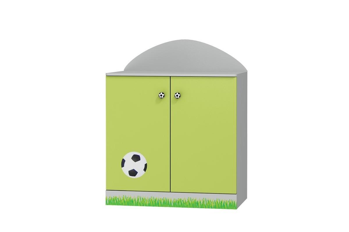 Szafka 2-drzwiowa do pokoju dziecięcego FOOTBALL