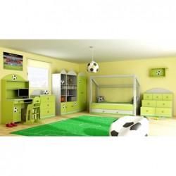 Szafka 2-drzwiowa do pokoju dziecięcego FOOTBALL Szafka 2-drzwiowa do pokoju dziecięcego FOOTBALL