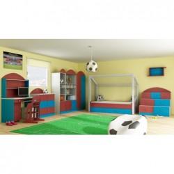 Komoda 3-drzwiowa do pokoju dziecięcego FOOTBALL Komoda 3-drzwiowa do pokoju dziecięcego FOOTBALL