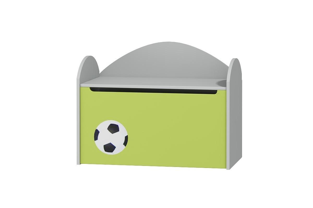 Skrzynia na zabawki do pokoju dziecięcego FOOTBALL