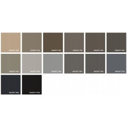 Eco skóra MADRYT Sofa LARA DL biała eco skóra
