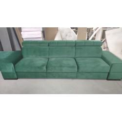 Sofa REY III zielony- realne zdjęcie Sofa REY III turkus