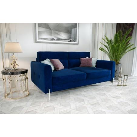 Sofa ART V szafirowa