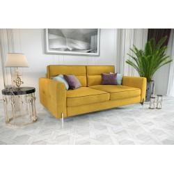 Sofa ART V żółta Sofa ART V szafirowa