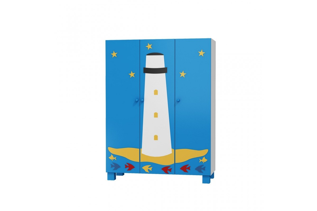 Komoda 3 szuflady STATEK Oceanic