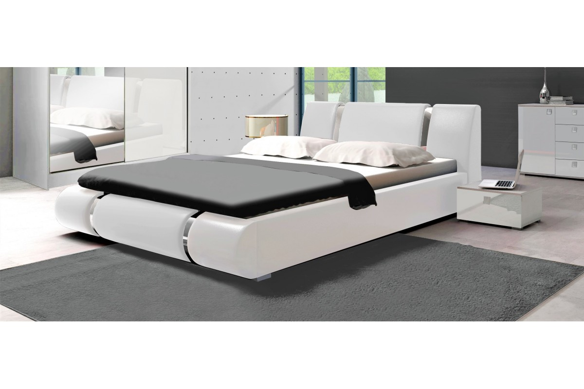 Łóżko LUXURY białe