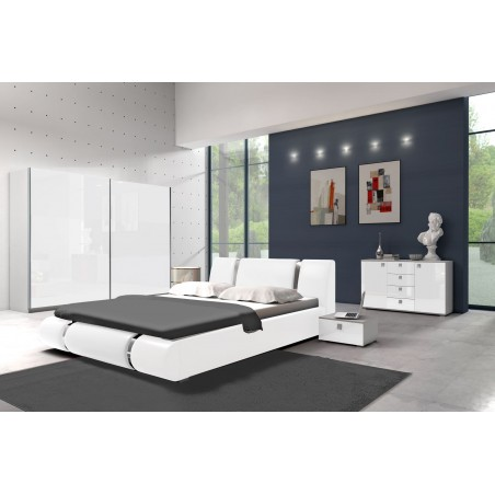 Sypialnia AGAT biała