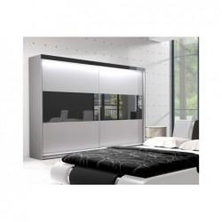 Sypialnia Spinel w kolorze białym