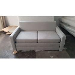 Sofa EVANT II 160x95 - zdjęcie realne Sofa AVANT biała eco skóra