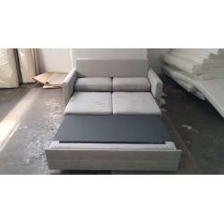 Funkcja spania Sofa AVANT biała eco skóra