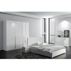 Sypialnia CLEAR biała
