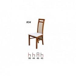 Krzesło K34 Zestaw nr.14, wybarwienie: dąb truflowy