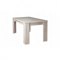 Zestaw 4 krzesła i stół do kuchni LAMINAT 140/90/180 CM