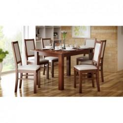 Rodzinny zestaw mebli do jadalni z 6 krzesłami i stołem 160/90/200 CM