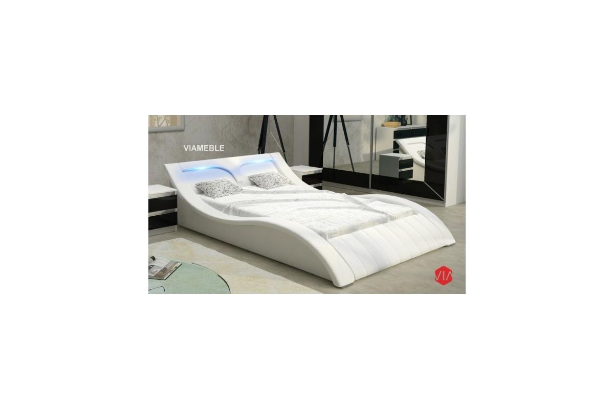 Łóżko RUBIN II białe