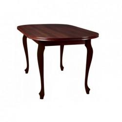 Stół S1/1/D OWAL Zestaw nr.27, wybarwienie drewna: orzech ciemny