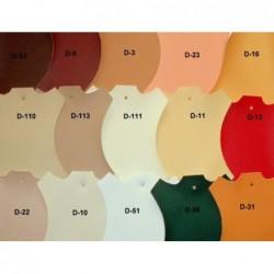 Łóżko tapicerowane JASPIS z ekologicznej skóry