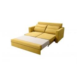 Funkcja spania Sofa kolor żółty