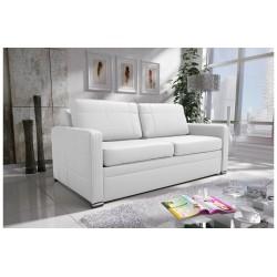 Sofa AVANT biała eco skóra