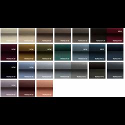 Tkanina MONOLITH Minimalistyczny fotel TOP pastelowy niebieski