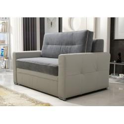 Fotel ART 135 cm szaro- kremowy Fotel ART 135 cm turkus