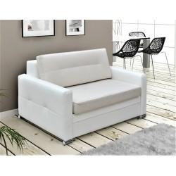 Fotel ART 135 cm biało - kremowy Fotel ART 135 cm turkus