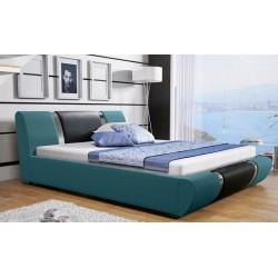 Łóżko tapicerowane MODENA turkus