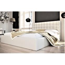 Łóżko tapicerowane SOFT beżowy