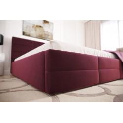 Łóżko tapicerowane LORI bordo