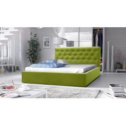 łóżko tapicerowane hera zielone łóżko tapicerowane hera szare