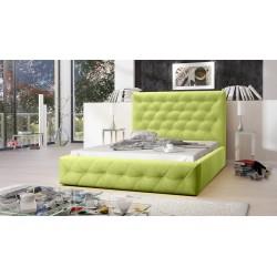 Łóżko tapicerowane MOON zielony Łóżko tapicerowane MOON żółty
