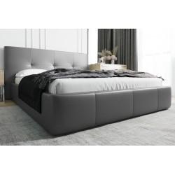 Łóżko tapicerowane AVANTI szary