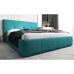 Łóżko tapicerowane AVANTI turkus