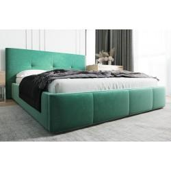 Łóżko tapicerowane AVANTI zielony