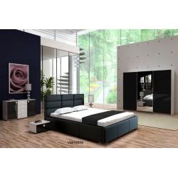 Sypialnia PERŁA w kolorze czarnym
