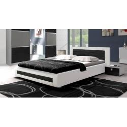Sypialnia ROYAL w kolorze biało-czarnym Sypialnia ROYAL w kolorze biało-czarnym