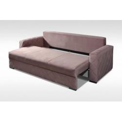 Funkcja spania oraz pojemnik na pościel Sofa ROSIE BIS