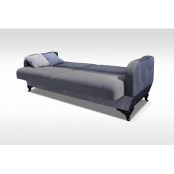 Funkcja spania Sofa OLIWIA niebieska