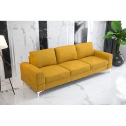Sofa GLORIA DL 260 cm żółta