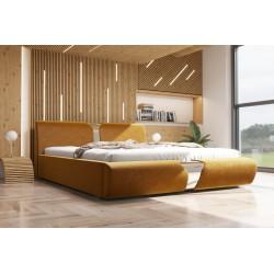 Łóżko tapicerowane SORI Łóżko tapicerowane SORI białe