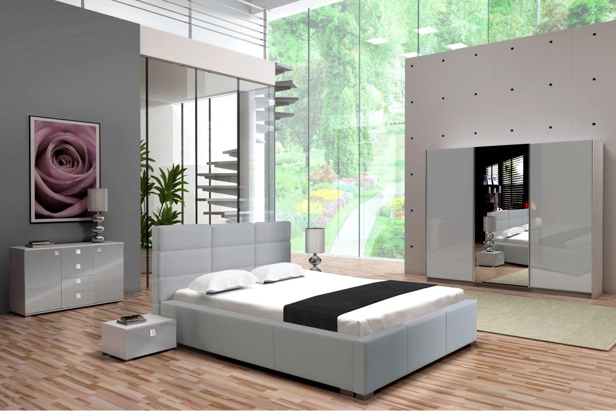 Sypialnia PERŁA szara