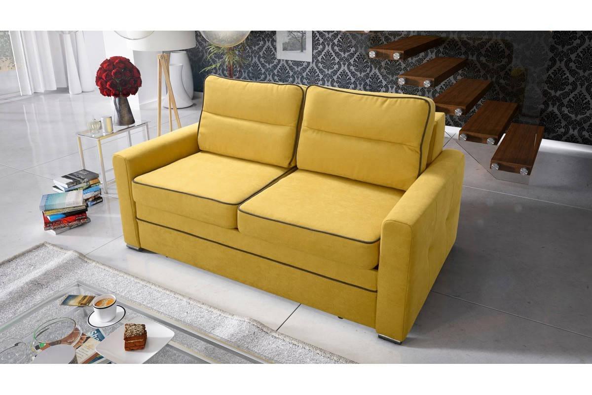 Sofa kolor żółty