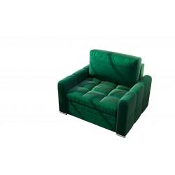 Fotel NERO 100 cm butelkowa zieleń Fotel NERO 100 cm turkus