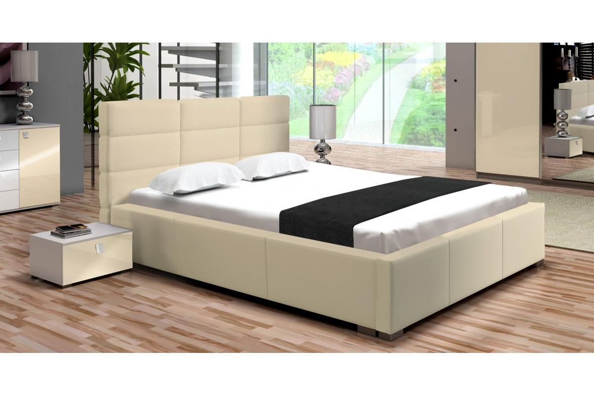 Łóżko PERŁA kremowe