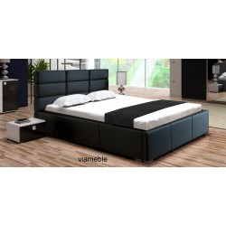 Łóżko PERŁA czarne