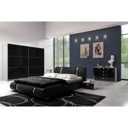 Sypialnia LUXURY I czarna