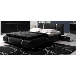 Łóżko LUXURY czarne