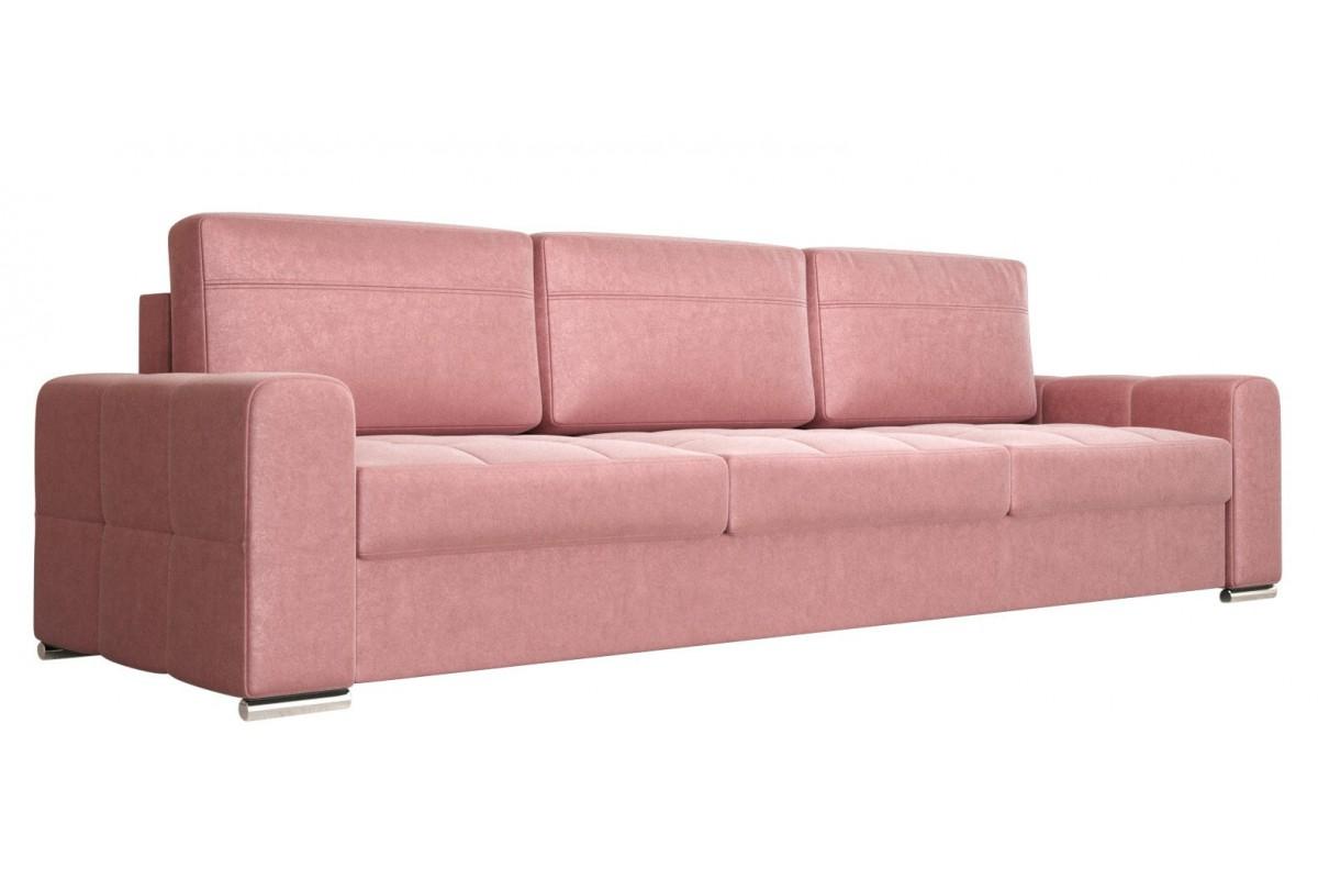 Sofa NERO DL pudrowy róż