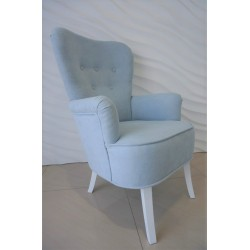 Fotel uszak błękitny Fotel uszak błękitny